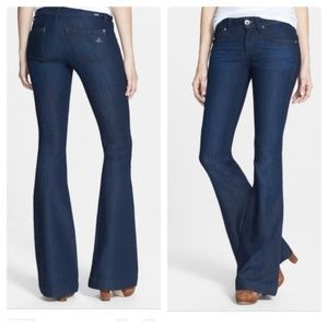DL1961 Joy High Rise Flare Leg Jeans in Milan